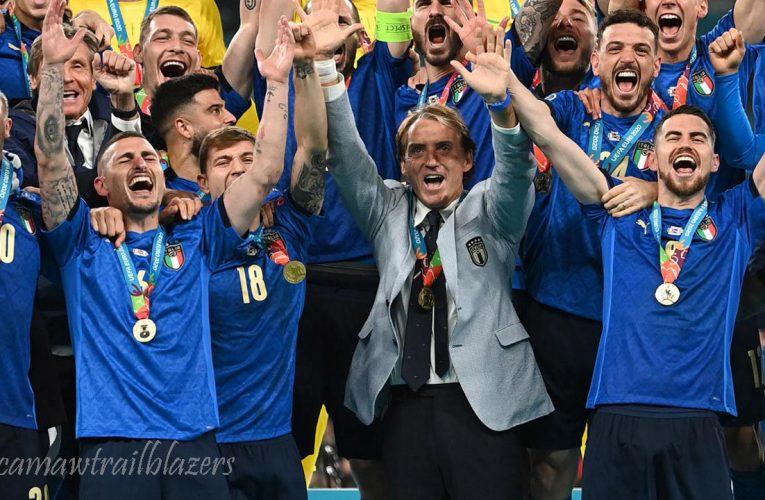 อิตาลีครองตำแหน่งแชมป์ยุโรป เป็นครั้งแรกในรอบ 53 ปี